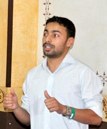 Mohamed Alif Kahlani, marketing, communication and management