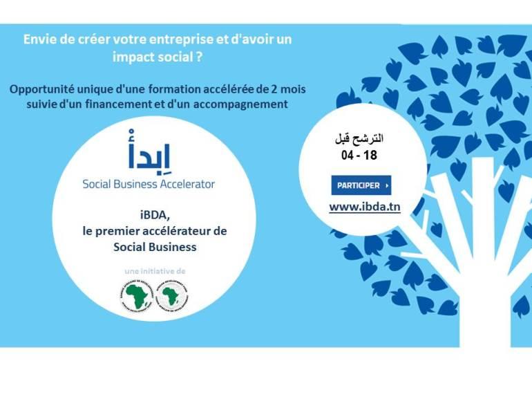 iBDA est une initiative lancée par la Banque Africaine de Développement dans le cadre du Mouvement Holistique de Social Business (MHSB), avec le soutien du « Japanese Trust Fund » et du « Multi-Donor Trust Fund for Countries in Transition », en collaboration avec Yunus Social Business et en partenariat avec Mazars, l'université de Yale et l'agence de communication JWT.