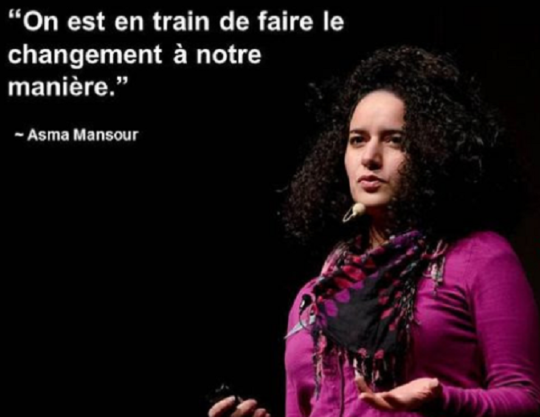 En collaboration avec Hatem Mahbouli (investment officer) et Sarah Toumi (fondatrice de «  Acacias For All »), Asma Mansour a créé  Tunisian Center for Social Entrepreneurship, une association qui a pour but de garantir un écosystème favorable à l'entrepreneuriat social en Tunisie.